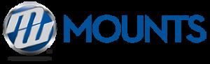 "90/"" Full-Motion TV Mount MW Mounts 42/"""